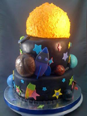 3d solar system birthday cake - photo #29